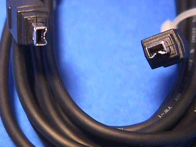 15FT FIREWIRE CABLE BLACK 4PIN 4PIN