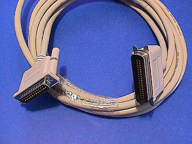 15FT Parallel Printer Cable A-B