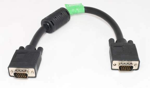 1FT SVGA Cable Monitor UL2919 HD15 Male to Male