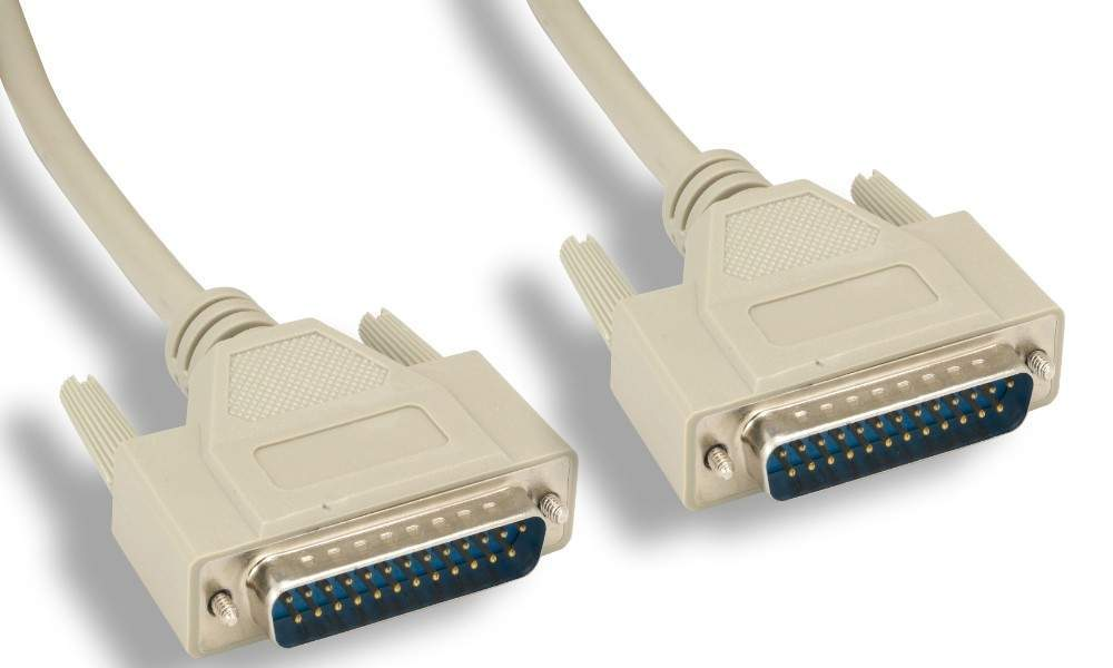 25FT DB25-M to DB25-M Cable