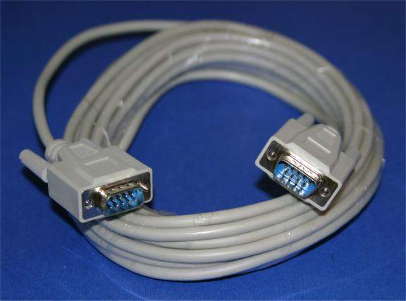 25FT DB9-Male to DB9-Male Serial Cable