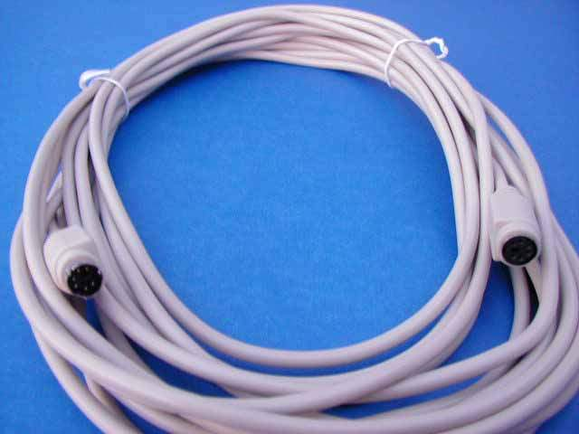 25FT KEYBOARD MOUSE EXTENSION CABLE MiniDIN6 Male to Female PS2 PS2