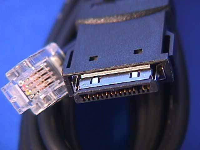 3COM PCMCIA MODEM CABLE M-15-3 15 PIN USR MHZ