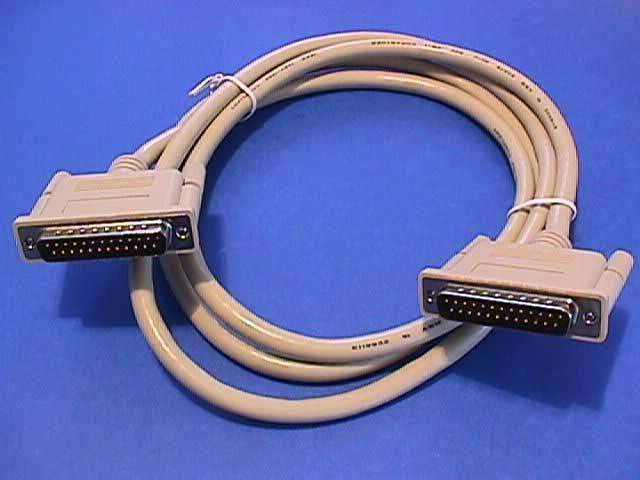 6FT DB25-M to DB25-M IEEE-1284 Cable