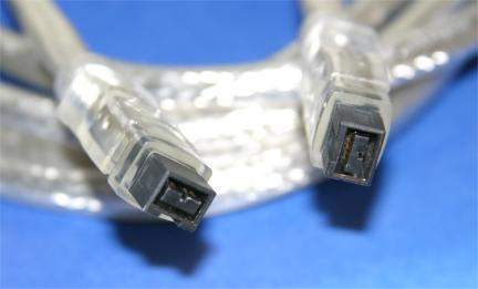 6FT FIREWIRE 1394B BETA Cable Silver 9PIN 9PIN