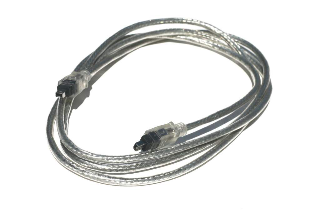 6FT Firewire Cable Silver 4PIN 4PIN