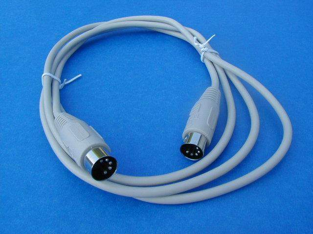 6FT KEYBOARD CABLE DIN5 Male to Male