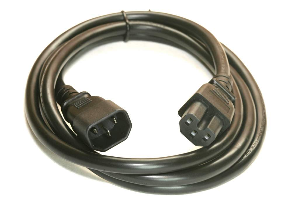 6FT Monitor to Computer - Power Extension Cable C14-C15