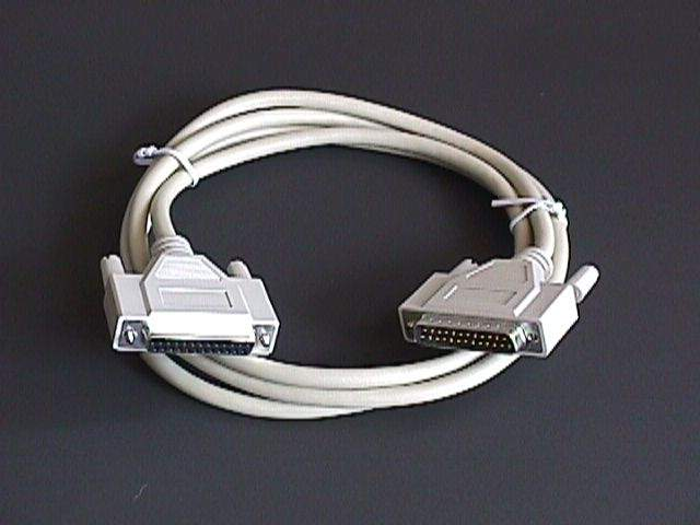 6FT Serial Printer HP Plotter Cable DB25 Male to Female