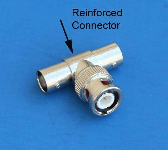 BNC T-CONNECTOR F-F-M