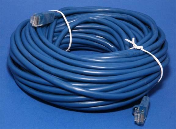CAT 5e BLUE 50FT RJ45 NETWORK CABLE