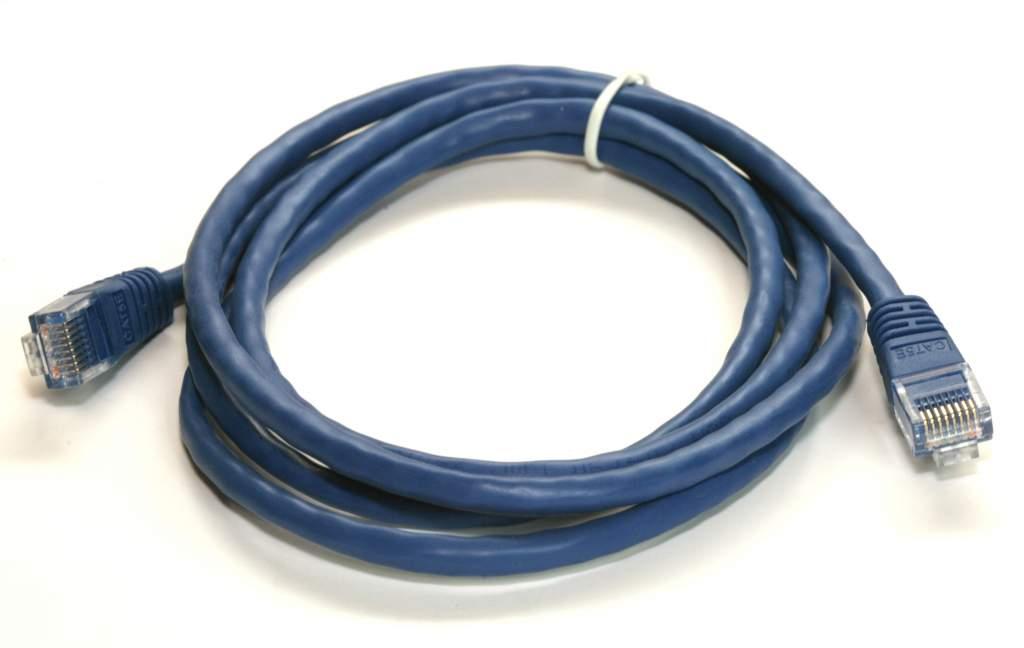 CAT 5e BLUE 5FT RJ45 NETWORK CABLE