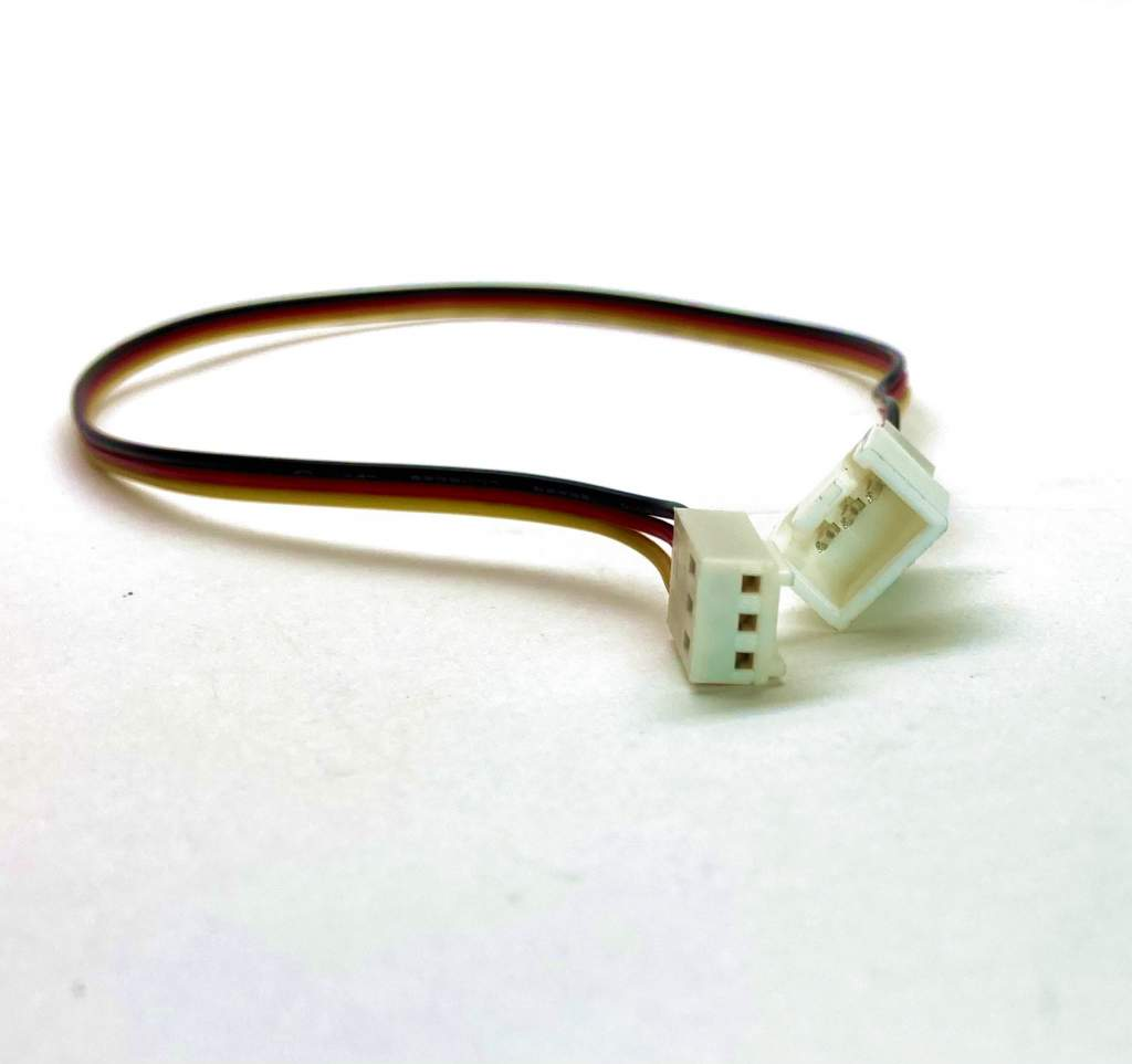 CPU Case Fan 3Wire Male to Female Extender Cable Splitter 3Pin Power