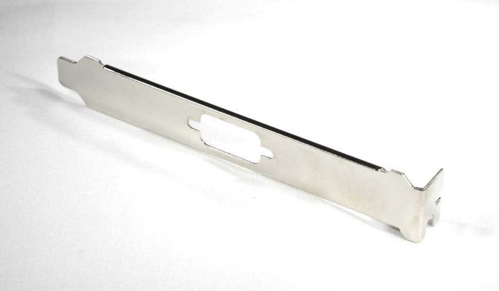Case Slot DB9 Cover Bracket with Metal Bend