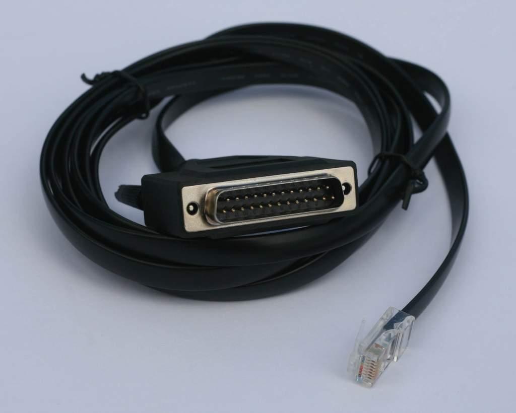 Cisco Compatible 72-3663-01 Modem Console RJ45 DB25 Cable
