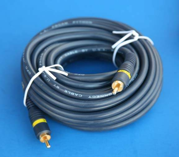 Composite Video 25ft Single RCA Cable