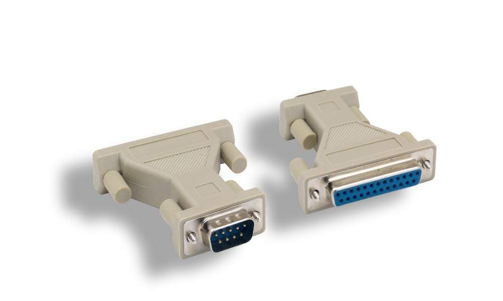 DB25-Female to DB9-Male Serial Adapter