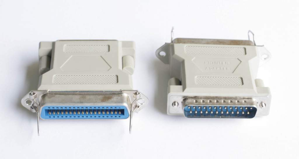 DB25-M CN36-F PARALLEL ADAPTER
