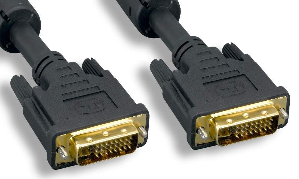 DIGITAL DVI-I-M to DVI-I-M DVI Cable DUAL LINK 2M 6FT