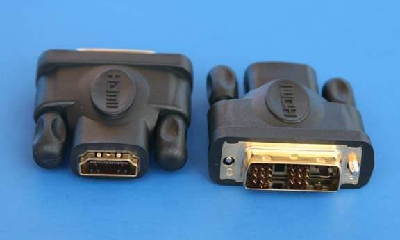 DVI to HDMI ADAPTER Male-Female