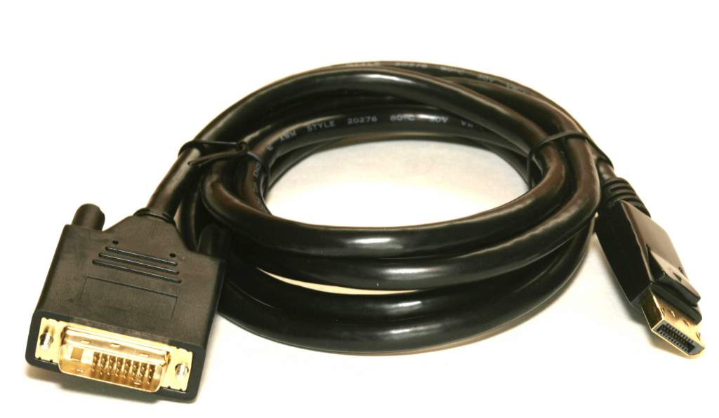 DisplayPort Male to DVI-D Male 3 Meter Cable Premium 10Ft