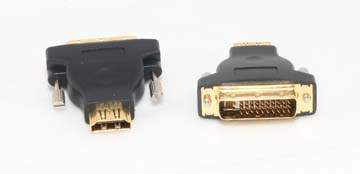 Gold Plated M1-D P and D Male to HDMI Female Adapter