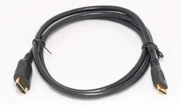 HDMI A to HDMI 1.4 Type-C Premium Cable 1M 3FT Certified
