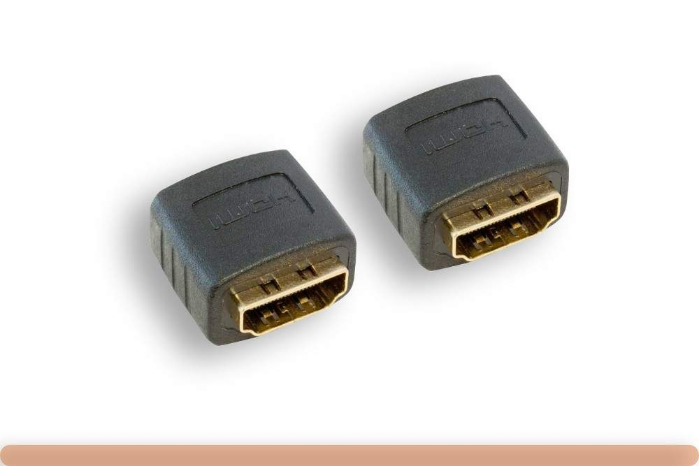 HDMI Adapter Type-A Female to Type-A Female Coupler Gender Changer