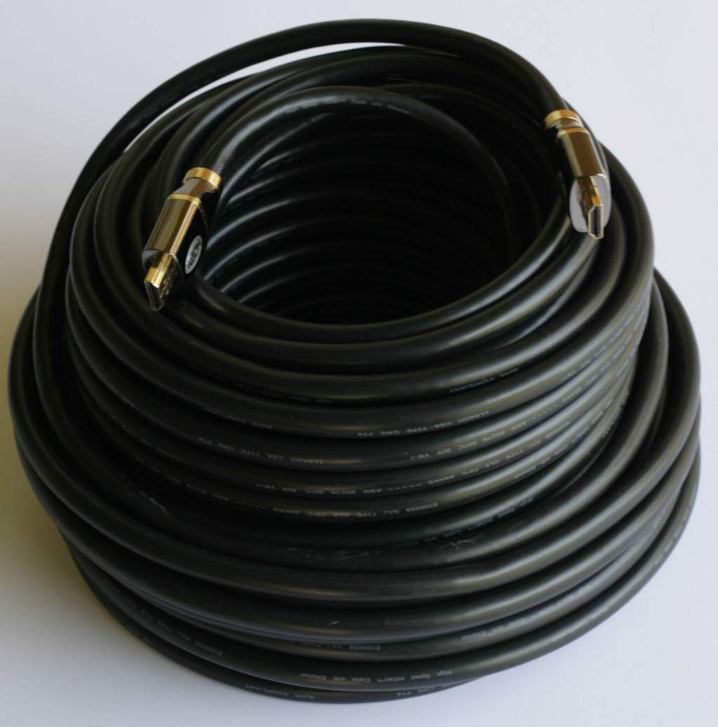 HDMI to HDMI PREMIUM Cable 100FT CL2 FT4 24AWG RedMere PRE1692