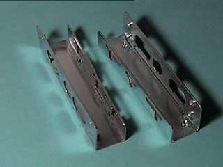 Hard Drive Bracket Metal 3.5In to 5.25In