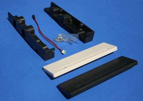 Hard Drive Mounting Kit Rails Bracket with Screws