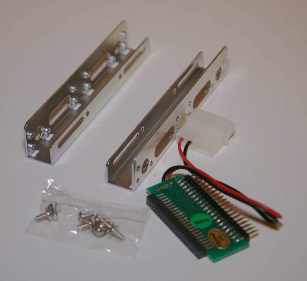 IDE Hard Drive Adapter 44-40 Pin with Bracket Kit 2.5 to 3.5 Inch