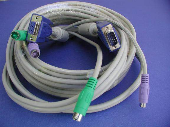 KVM Cable 15FT Video Male to Female
