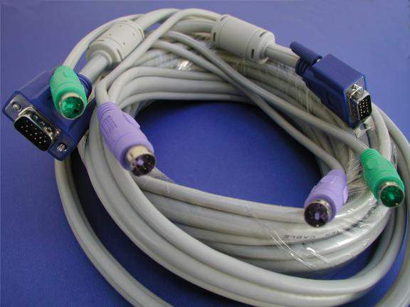 KVM Cable 25FT Video Male to Male