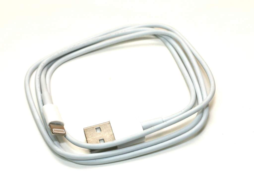 MFi Certified Lightning to USB Cable 3FT White Iphone