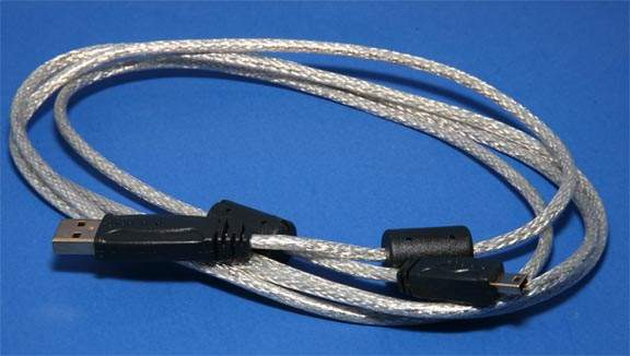MP3 Cable Generic Mini-B 5-Wire 6ft