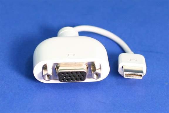 Micro-DVI to VGA Adapter