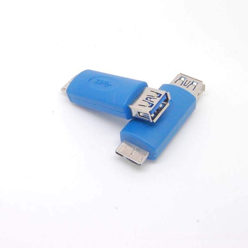 MicroUSB 3.0  A Male to USB A Female 3.0  Adapter