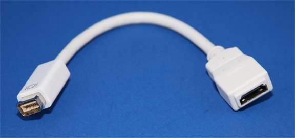 Mini-DVI to HDMI Adapter
