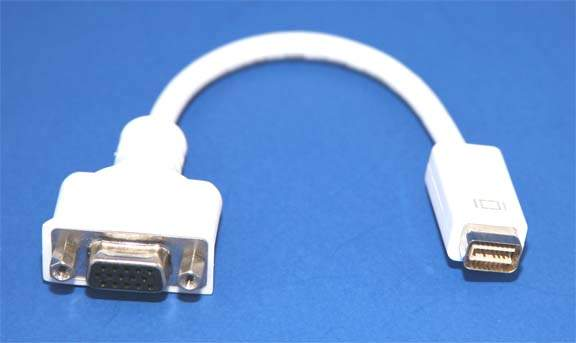Mini-DVI to VGA Adapter