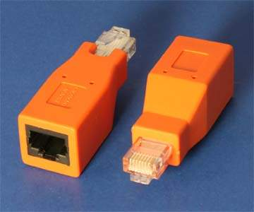 NETWORK CrossOver Adapter CAT6 CAT5E