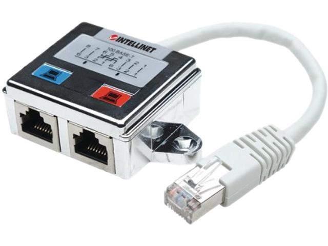 Network Splitter Cable Shielded 100BASET 10BASET