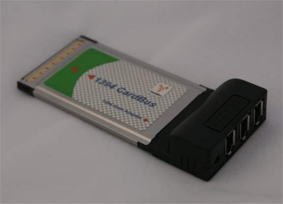 PCMCIA CARDBUS TRIPLE Port FIREWIRE