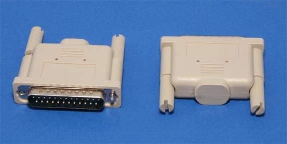 Parallel Loopback Plug DB25-M Tester