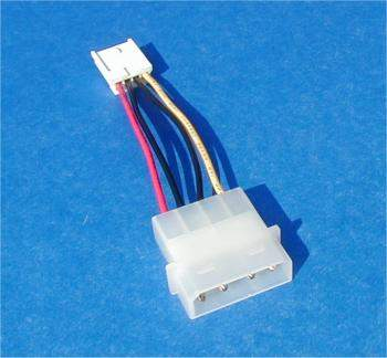 Power Cable 5.25 to 3.5 Adapter