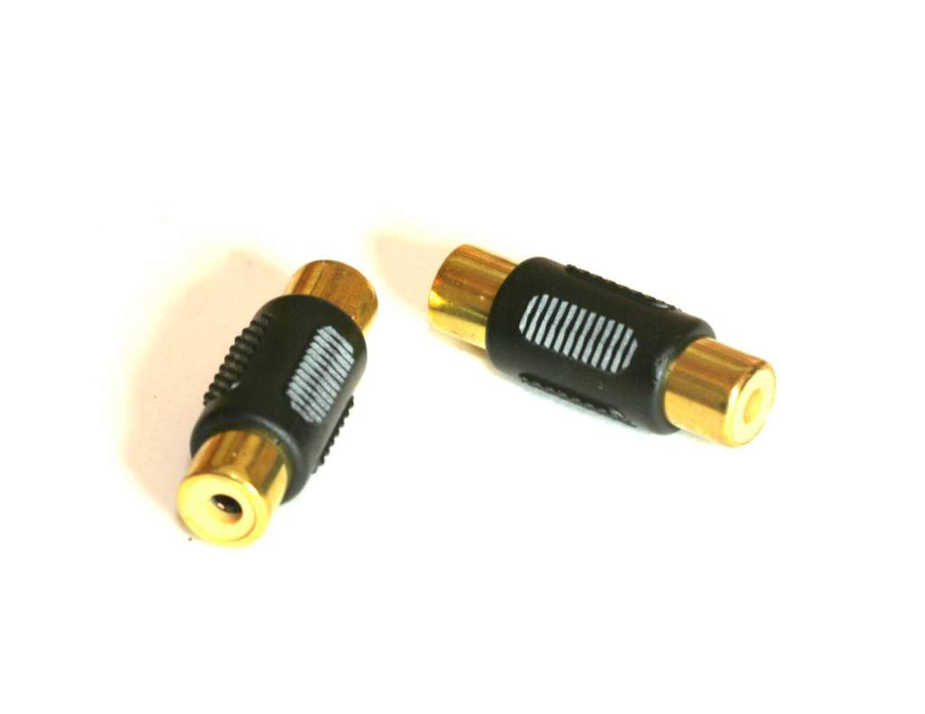 RCA-Female to RCA-Female Coupler Adapter