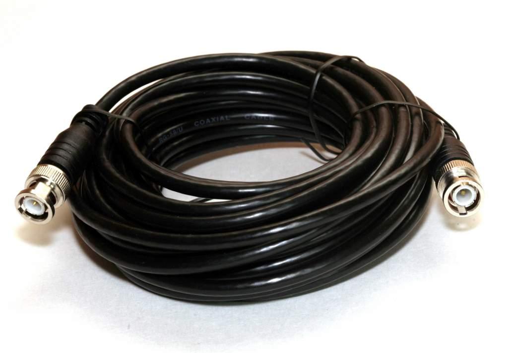 RG58 COAX BNC 25FT Cable
