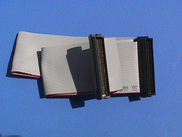 SCSI RIBBON Cable INTERNAL ULTRA WIDE 12IN UWIDC68 1-Device