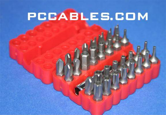 SECURITY BIT SET 33PCS