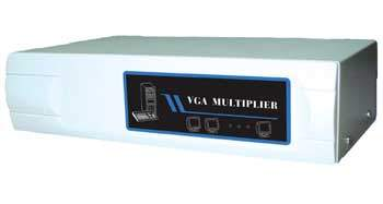 SVGA AMP Splitter to 2 Way Powered 400MHZ